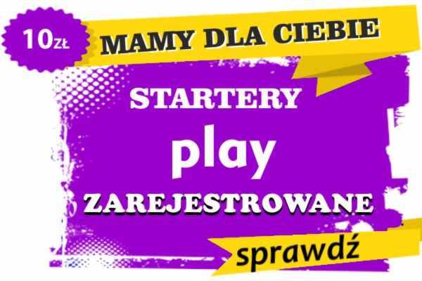 Sprzedam zarejestrowane karty sim Czechowice-Dziedzice  PLAY zadzwoń lub wyślij sms na 887332665